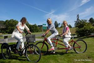 Diane S Hanisch, Elise T Nore og Ingebjørg Guslund Fot Jan Arne Dammen