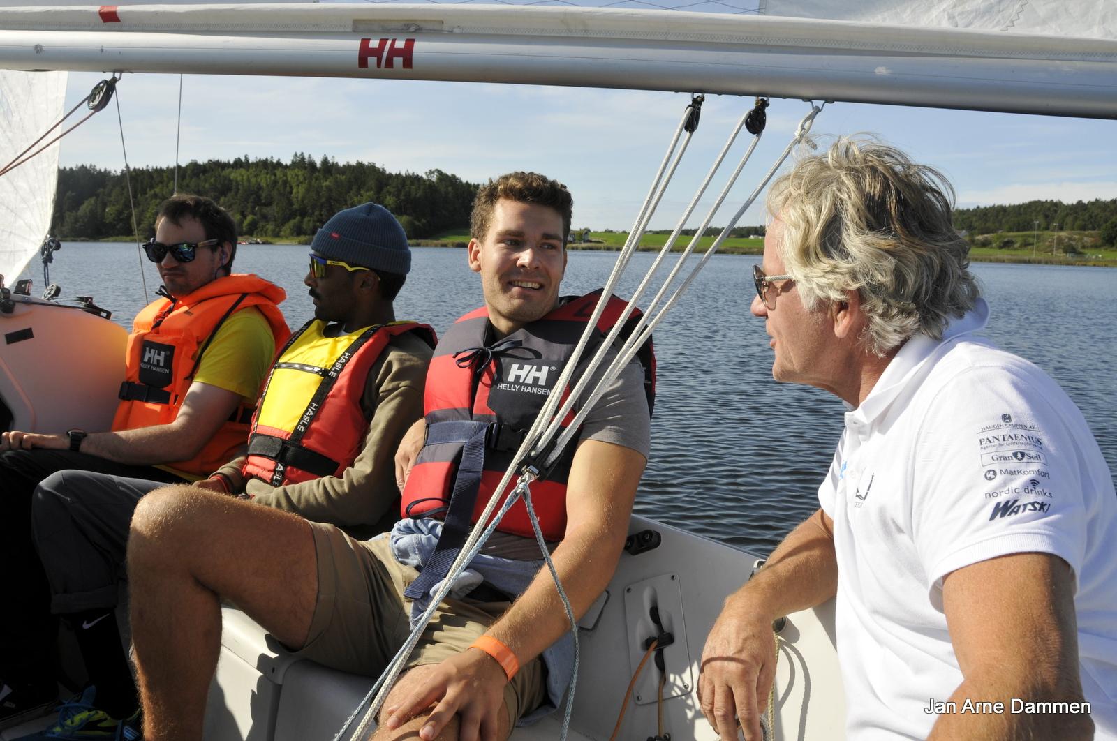 Chris-Arne, Daniel, Axel og Steff. Foto Jan Arne